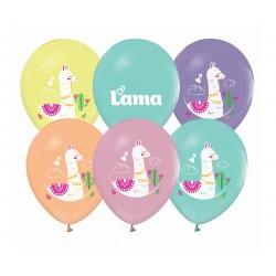 God Baloane Latex Llamas 30cm 5/set Gz-lam5