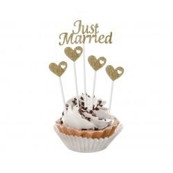God Ornamente W&c Just Married 5/set Qt-pjmz