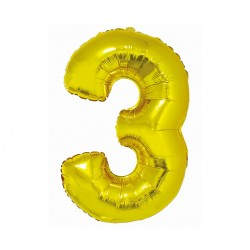 God Balon Folie Alumniu Smart 3 Gold 76cm Ch-szl3
