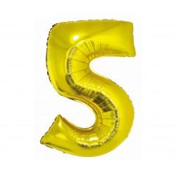 God Balon Folie Alumniu Smart 5 Gold 76cm Ch-szl5