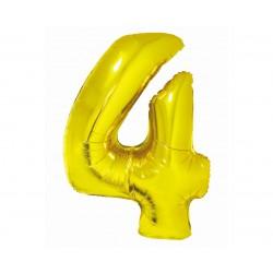 God Balon Folie Alumniu Smart 4 Gold 76cm Ch-szl4