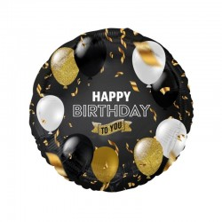 God Balon Folie Aluminiu Beauty&charm Happy B.day To You 36cm Fg-obeb