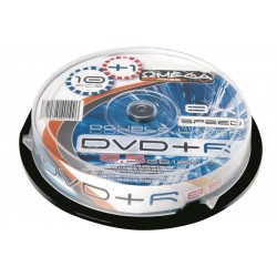 NEO DVD OMEGA 10/SET 8.5GB DOUBLE LAYER DL DVD+R