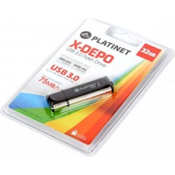 TEC FLASH USB 3.0 PLATINET 32 GB PMFU332