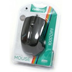 GEN MOUSE OMEGA OPTIC OM05N NEGRU