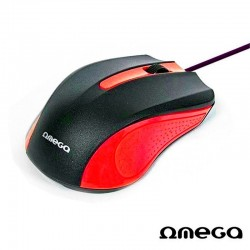 LEG MOUSE OMEGA OPTIC ROSU OM05R