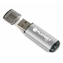 GEN FLASH USB 2.0 PLATINET 32GB SILVER