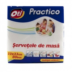 OTI SERVETELE VOLARE 33*33 80/SET