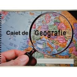 TIP CAIET GEOGRAFIE SPIRA 32 FILE A4