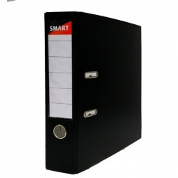 NOV BIBLIORAFT PLASTIFIAT 7.5 CM SMART NEGRU
