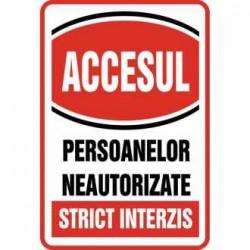 TEM INDICATOR PROTECTIE-ACCES STRICT INTERZIS 803199