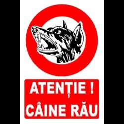 TEM INDICATOR PROTECTIE-ATENTIE!CAINE RAU! 803202
