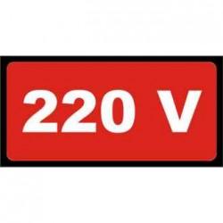 TEM INDICATOR PROTECTIE-SEMNE AVERTIZARE 220V 10/SET 803221