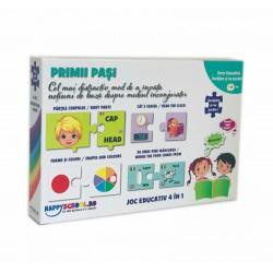SER JOC EDUCATIONAL PRIMII PASI 4 in 1 XP33