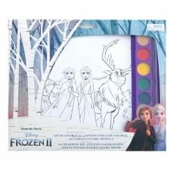 Ser Kit De Colorat A4 Frozen 31002