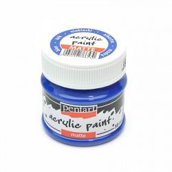 CA ACRIL PENTART MAT 50ML  BLUE 6530