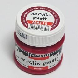CA ACRIL PENTART MAT RED WINE 50ML 6820