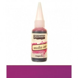 CA CERNEALA PENTART MEDIA INK 20ML 21019 MAGENTA