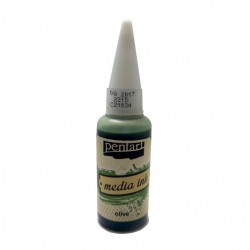 CA CERNEALA MEDIA INK 20ML OLIVE PENTART 21034