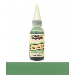 CA CERNEALA PENTART MEDIA INK 20ML 21035 GRAPE LEAF