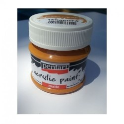 CA ACRIL PENTART MAT REDISH BROWN 50ML 93000