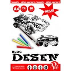 LEC BLOC DESEN A4 110G PIGNA BD-A416110