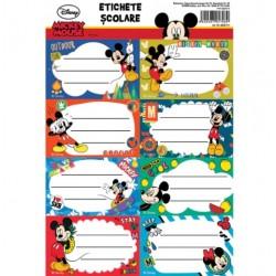Lec Etichete Scolare 40/set, 5 Tiple, Mickey Mket11