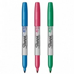 CON MARKER PERMANENT SHARPIE METALIC 3/SET 3852953 n