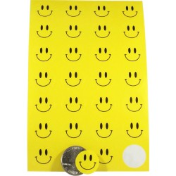 LEG STICKER 280 buc SMILEY  S563/S1422