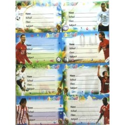 Leg Etichete Scolare Fotbal 8/coala, 10 Coli E171