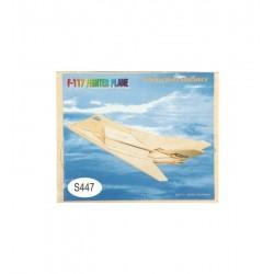 Leg Puzzle Lemn 3d Avion S447