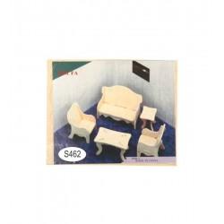 Leg Puzzle Lemn 3d Sufragerie S462