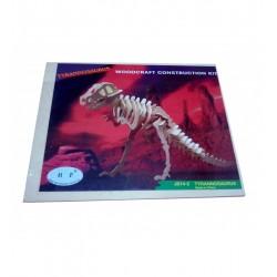Leg Puzzle Lemn 3d Dinozaur S523