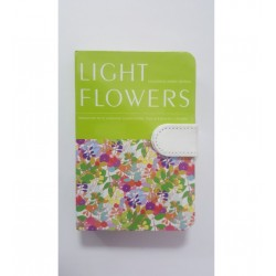 LEG JURNAL LIGHT FLOWERS A6 CU CLAPA MAGNETICA J99
