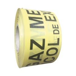 LEC BANDA NON-ADEZIVA AVERTIZARE GAZ 100MM*200M AM000041