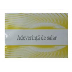 GOL ADEVERINTA SALAR A5