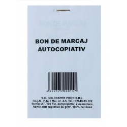 GOL BON MARCAJ AUTOCOPIATIV A7