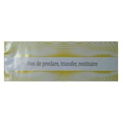GOL BON PREDARE TRANSFER RESTITUIRE 1/2 A4