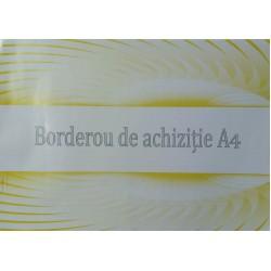GOL BORDEROU ACHIZITII A4