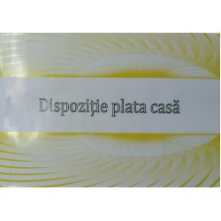 GOL DISPOZITIE PLATA CASA A6