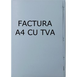 GOL FACTURA A4 CU TVA