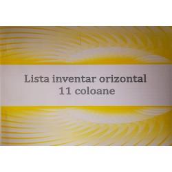 GOL LISTA INVENTAR ORIZONTAL A4 11 COLOANE