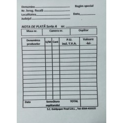 GOL NOTA PLATA AUTOCOPIATIVA A6 2EX