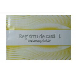 GOL REGISTRU CASA 1 A4 AUTOCOPIATIV MODEL VECHI