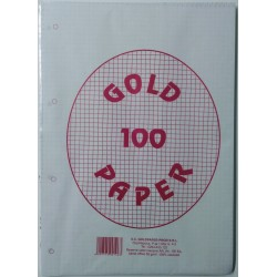GOL REZERVA CAIET MECANIC A4 100 FILE AR