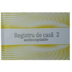 GOL REGISTRU CASA 2 AUTOCOPIATIV MODEL NOU A4