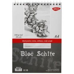 ADA BLOC DESEN SCHITE A4 DACO 160GR/M2 BD416
