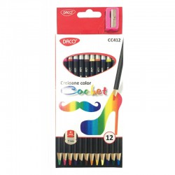 ADA CREIOANE COLOR DACO  COCHET 12/SET CC412