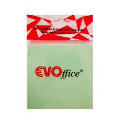 GOL POST IT EVOFFICE 75*75 VERDE PASTEL EV6C06VE