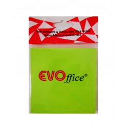 GOL POST IT EVOFFICE 75*75 VERDE NEON